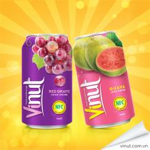 0, 33 L red grape 100% pure juice high quality juices from VIETNAM