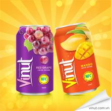 PRIVATE LABEL Fruit Juice RED GRAPE JUICE WITH GRAPE PIECES 330ml