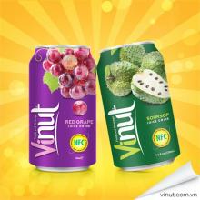 VINUT Red Grape Drink 330ml Fruit Juice