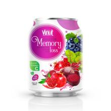 250ml Can 100% Vegetable Juice - Juice for Memory Loss