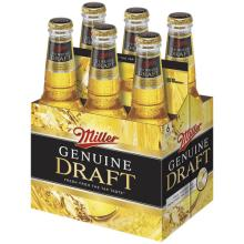 Miller Draft Genuine Beer