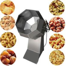 Condiment Potato Chips Roasting And Seasoning Machine