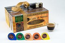 Caff?¨ di Artisan Game-changing 5x10 Liquid Luxury Coffee capsules/pods. All majo