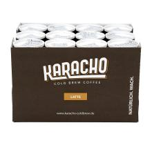 KARACHO Latte | cold brew coffee with organic milk | 12-pack | organic | lots of