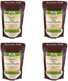 Details about 4X NOW FOODS REAL FOODS ORGANIC RAW CACAO POWDER SUN DRIED NATURAL FRESH HEALTH