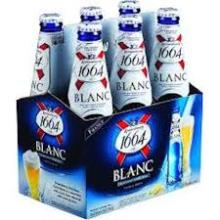 Kronenbourg 1664 Blanc Beer / French Beer Blue Bot..