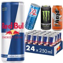 Energy Drinks (Redbull, Play, Monster, XL) Fresh Produce on 30% Discount