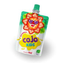 100ml Cojo Kids Pouches Strawberry Juice Drink