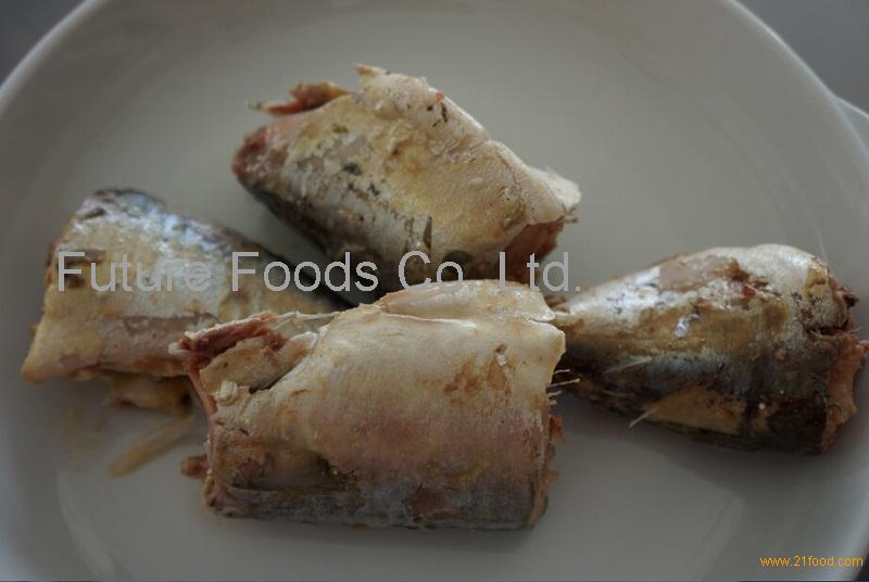 MACKEREL IN BRINE CANNED FOOD CANNED FISH