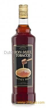 Caribbean honey rum ron miel tobacco products netherlands for Cocktail whisky miel