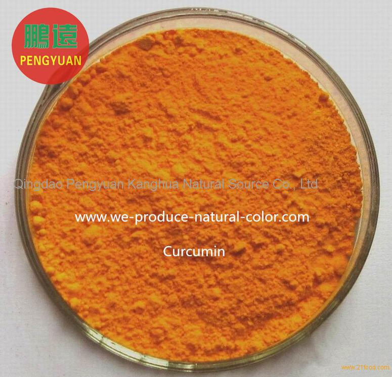 Chinese natural yellow pigment manufacturer curcumin for food coloring
