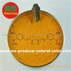 Chinese natural yellow colorant exporter water soluble curcumin for food coloring