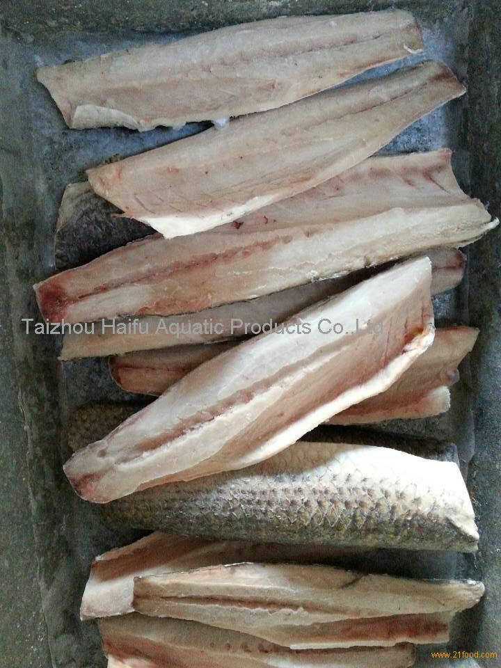 wholesale frozen seafood grey mullet fish fillets for canned
