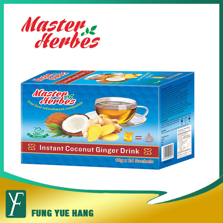Coconut Flavor Instant Ginger Crystal Health Ginger Tea