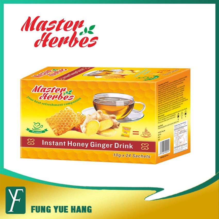 Saveur Miel the de gingembre en poudre thé de Chine
