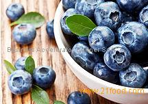IQF blueberries and frozen blueberries