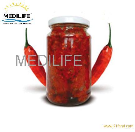 Hot Chili Paste ,Harissa of Tunisia , 350 gr Jar