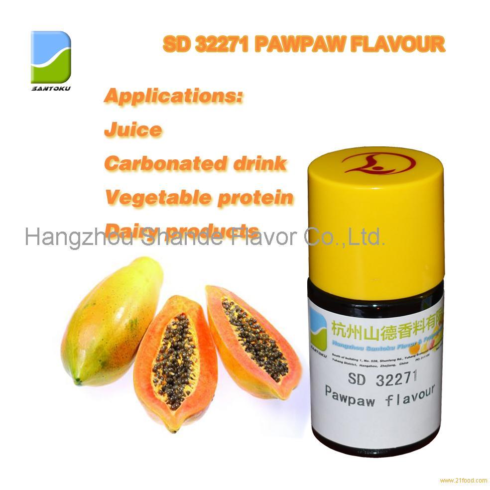 Pawpaw flavor concentrated food flavor liquid flavor
