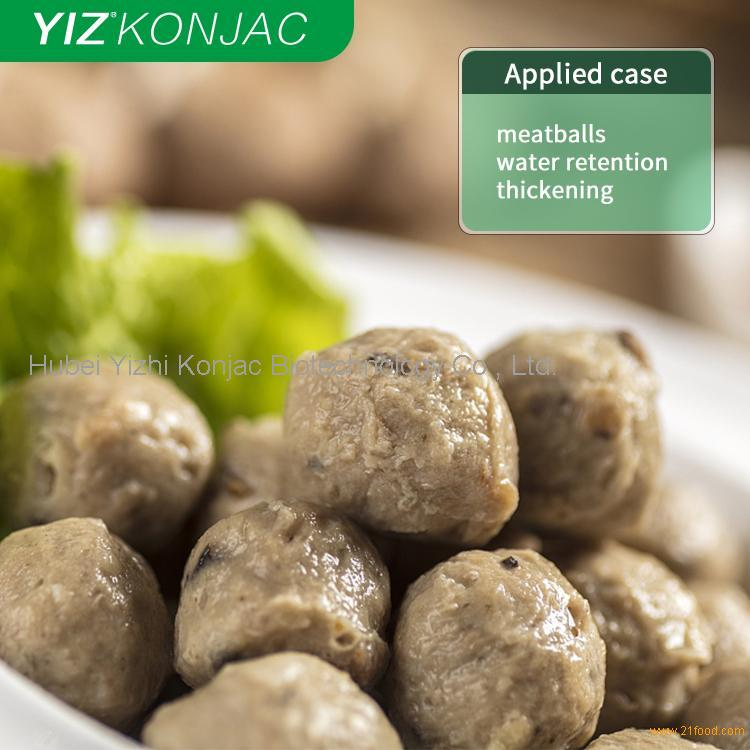 Konjac powder for meat