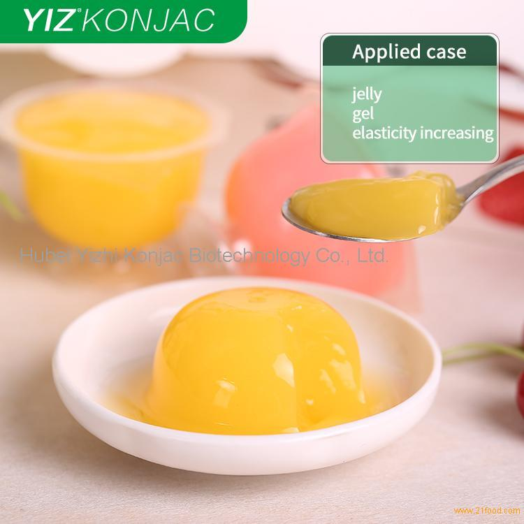 konjac gum used in jelly products as food additives