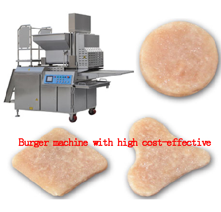 Burger machine with high cost-effective