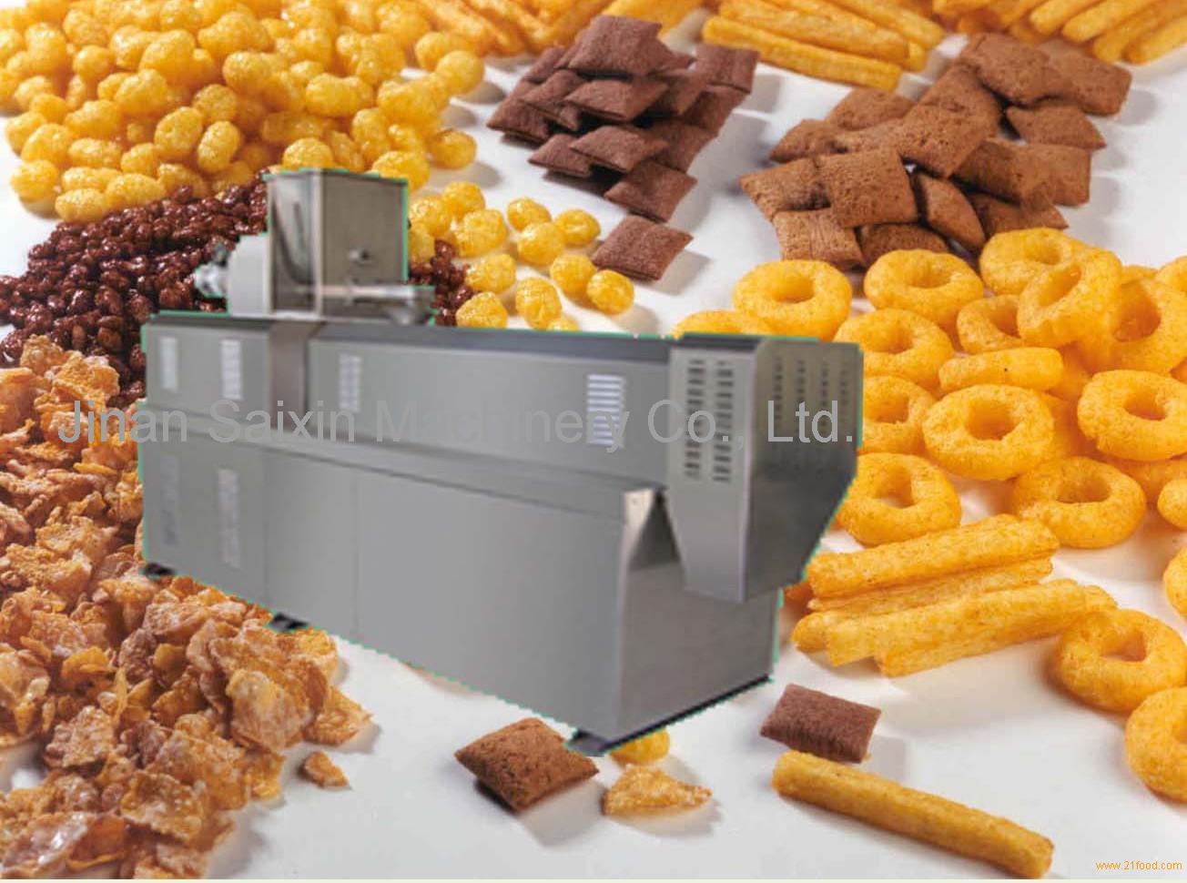 snacks extruder
