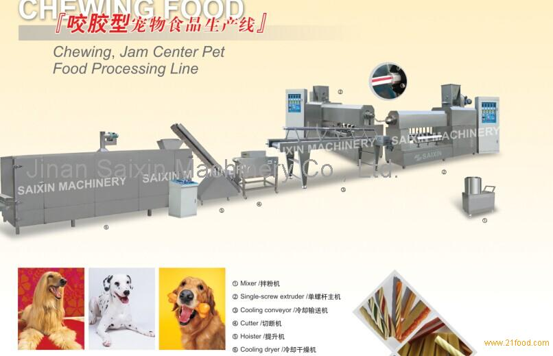 Pet chews machine