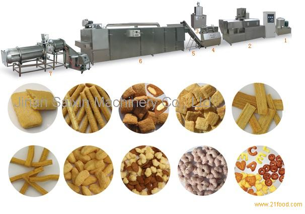 snack food machine, puffed snack machine, snack making machine