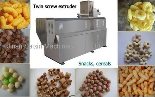 twin screw food extruder,snack food extruder
