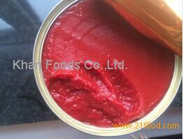 850g tomato paste direct filled