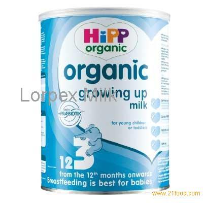 lait bio hipp