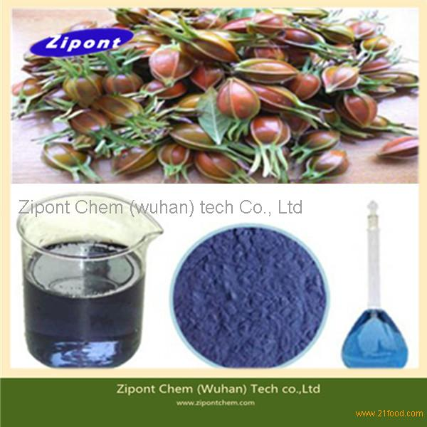 Health Food Plant Extract Pigment Gardenia Blue