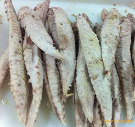 Clean frozen pre-cooked bonito loin from China