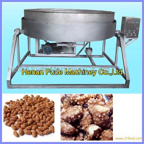 Popular Cocoa peanut making machine, chocolate sticky sugar peanut forming machine,peanut cocoa bea