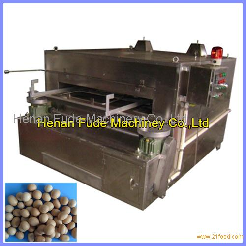 Stainless steel rocking oven for coated peanuts,wasabi peanut processing machine,flour-coated