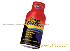 5 hour Energy Drinks