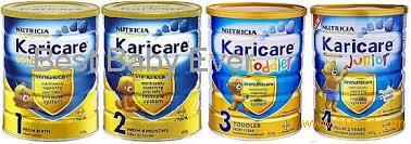 Nutricia Karicare Goat milk powder 1 Infant Formula from birth 900g
