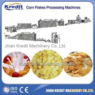 Corn flakes/Fruit loops/Coco curls/Breakfast Cereal processing machine