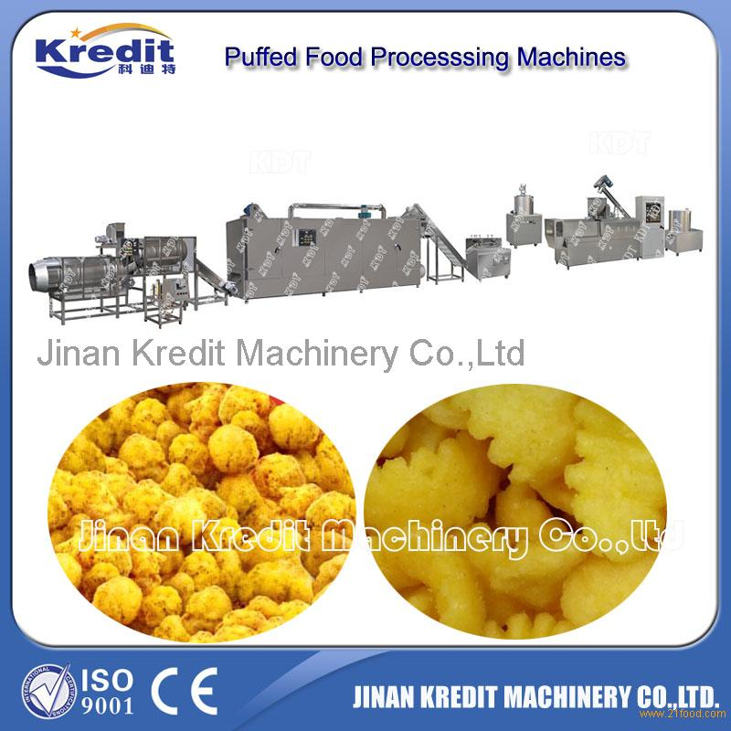 Snack food Machinery From Jinan Krdit