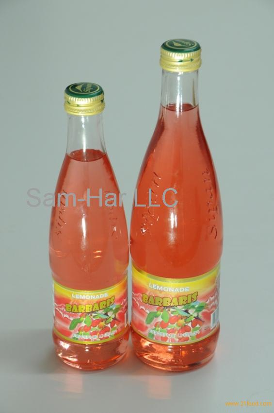 Barbaris Carbonated Drink in Glass Bottle