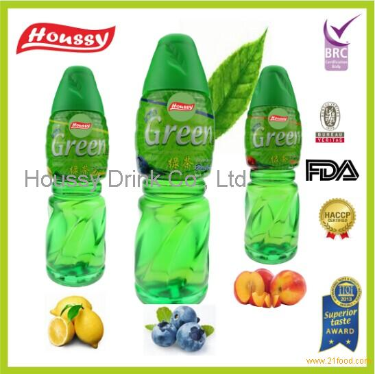 iced green tea products,China Houssy fruit flavored iced green tea