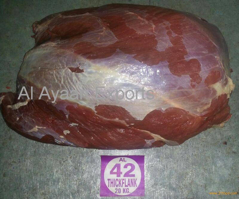 Thick flank halal frozen buffalo meat products india for Ayaan indian cuisine
