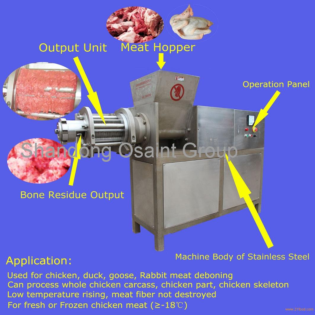 high quality double-rod meat separator TLY1500 with CE certificate