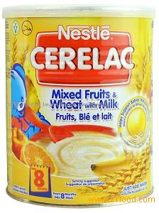 Nestle Cerelac Rice with Milk 400gr Tin.