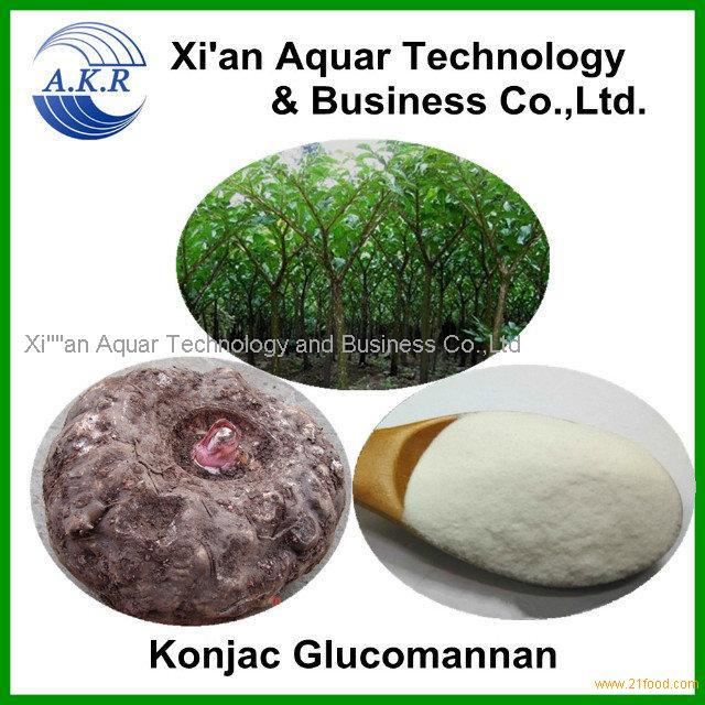 Factory supply the natural konjac powder 95%