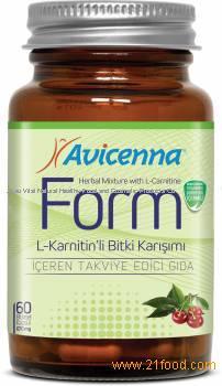 Herbal Food Avicenna Form L Carnitine Functional Food Health Snack