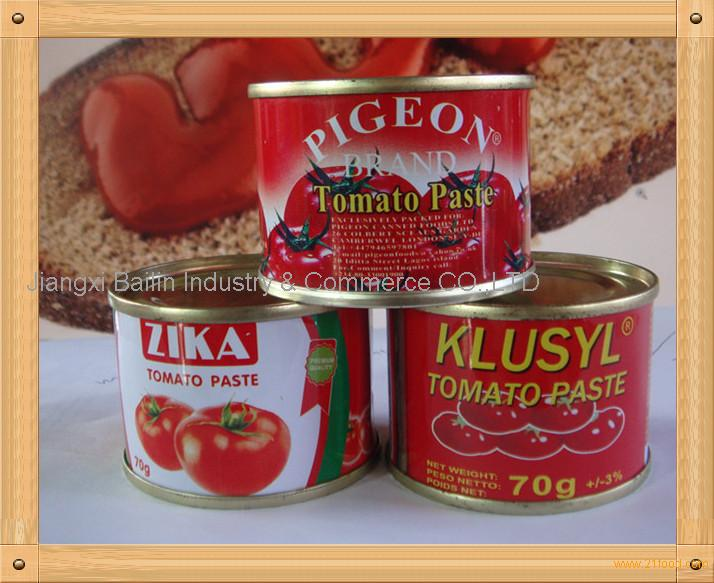 China supplier double concentrated canned tomato paste