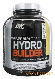 Optimum Nutrition Platinum Hydrobuilder Vanilla