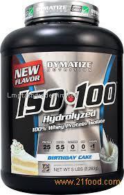 Dymatize ISO100 Hydrolyzed 100% Whey Protein