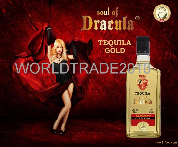 Soul of Dracula Tequila Gold